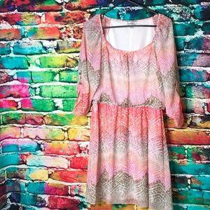 SPEECHLESS Pretty Pink Ombré Dress 🌸